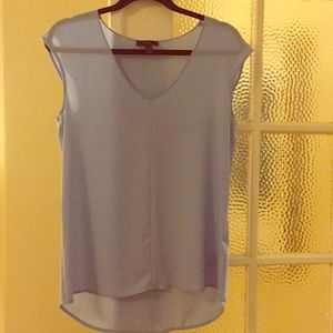 NWOT womens polyester baby blue tank size 2